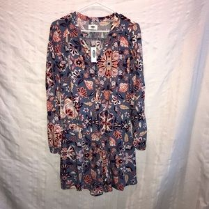 NEW Old Navy long sleeve floral jumper size M